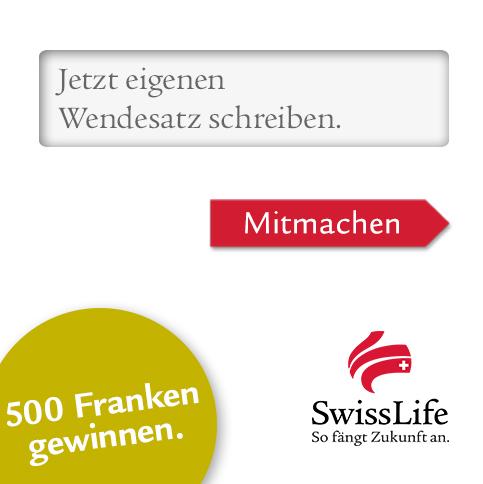 «Wendesatzt der Woche» Campaign