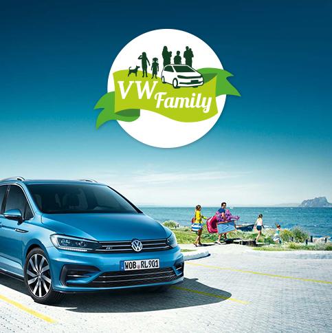 VW Touran Online Campaign Launch